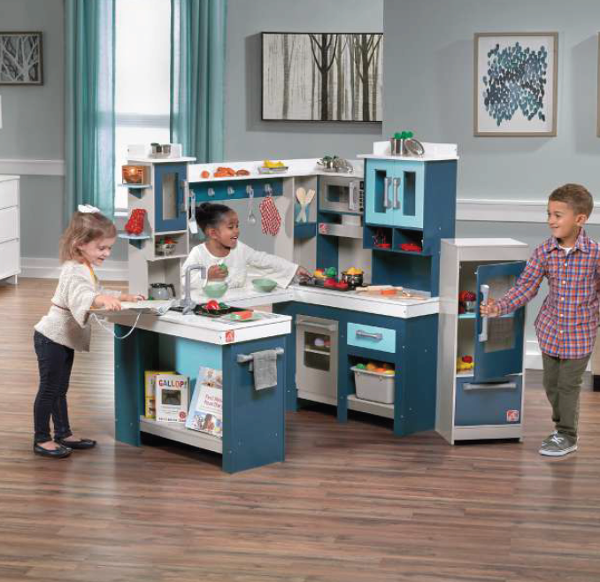 Νέα πολύ μεγάλη κουζίνα-Ultimate  Κωδ.PA579483, παιδικες κουζινες,παιχνίδια