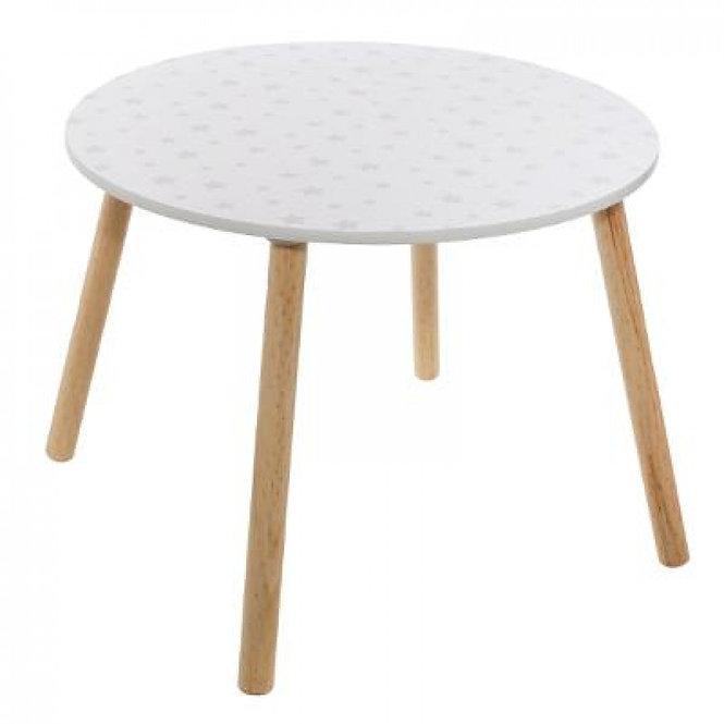 """Παιδικό  τραπέζι """"Νέο Μοτίβο Λευκού & Απαλότητας"""" κωδ.J2271521"""
