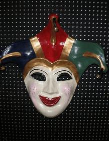 Βενετσιάνικη Μάσκα Κλόουν