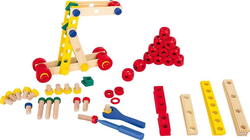 Σετ κατασκευής με ξύλινες Βίδες   Κωδ.L3490