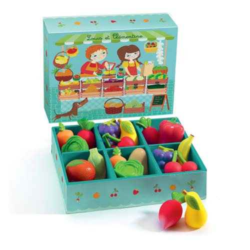 Σετ φρούτων και λαχανικών 12 τεμ Κωδ.:Τ06621