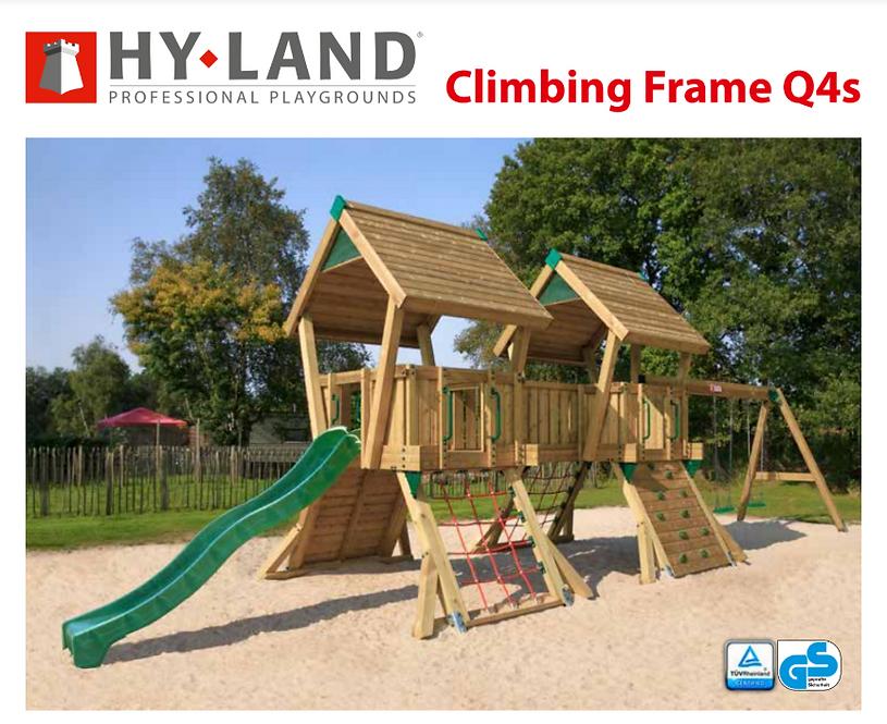 18-Παιδική χαρά Q4s Hy-land Professional  Κωδ.Q4s