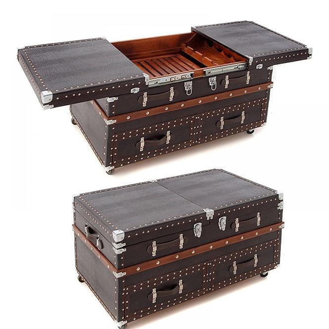 Μοναδικό ξύλινο μεγάλο μπάρ & μπαούλο    Κωδ.52199