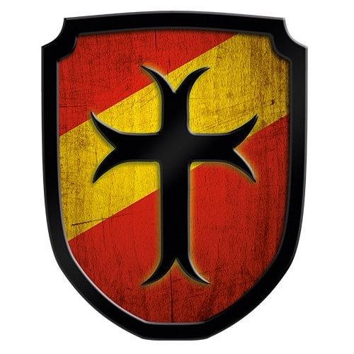 Ασπίδα Οικόσημο Σταυρός κόκκινη Κωδικός:Τ335461