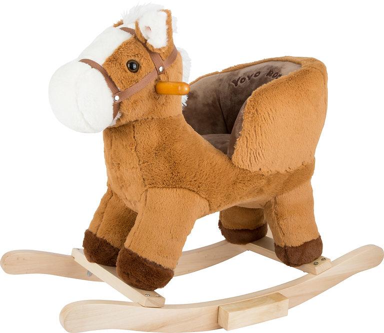 Κουνιστό άλογο με κάθισμα με ήχους κωδ:L10616