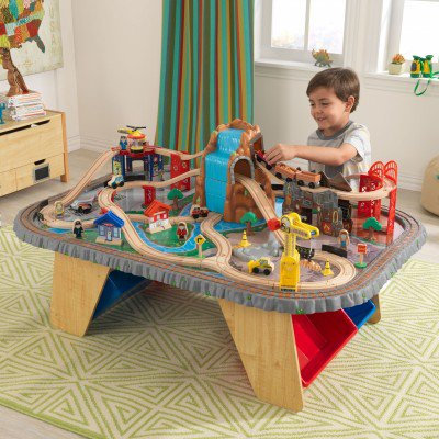 kidkraft Waterfall junction train set & table Κωδ.17498