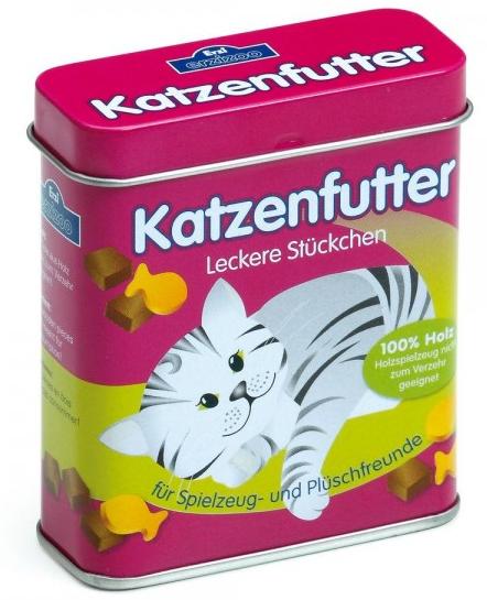 Τροφή για γατούλες σε μεταλλικό κουτί κωδ.18461