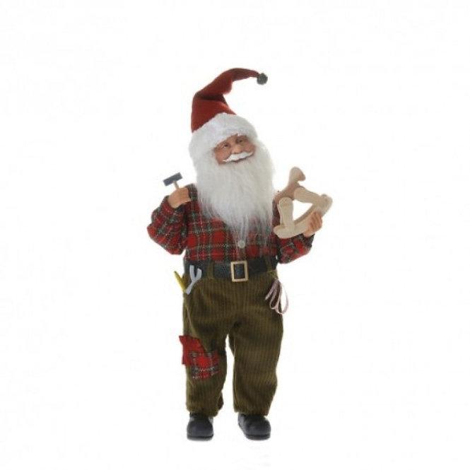 Άγιος Βασίλης μάστορας 46εκ.,κωδ.L694