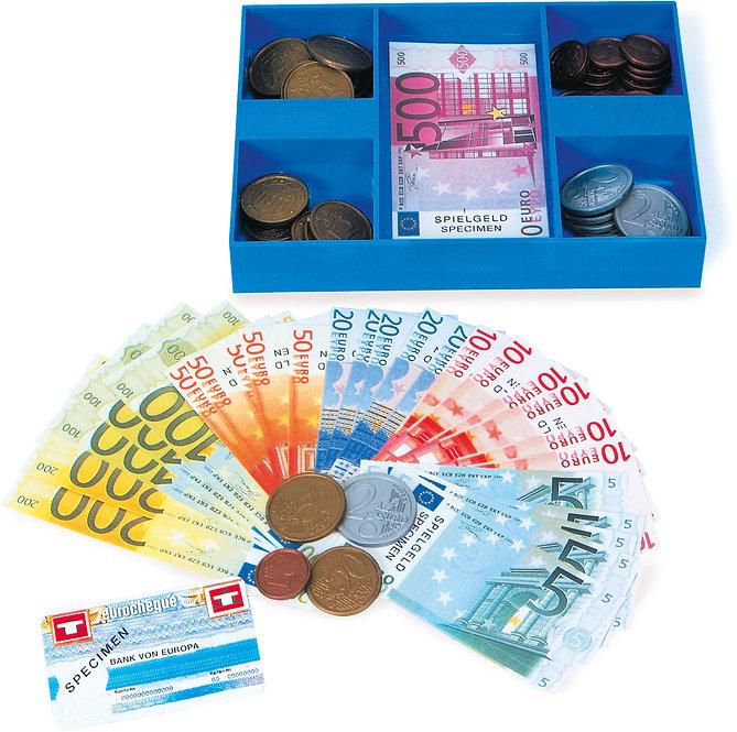 Ευρώ Χρήματα μαζί με το Κουτί για την ταμειακή μηχανή κωδ.L8261