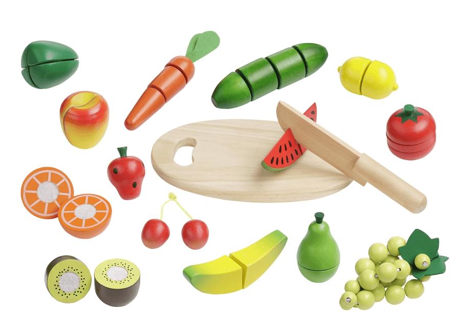 """Σετ κοπής """"Φρούτα και λαχανικά"""" κωδ. 4867"""