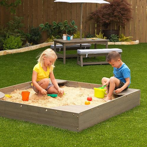 """Αμμοδόχος γκρι """"Backyard Sandbox"""" Κωδ.20045"""