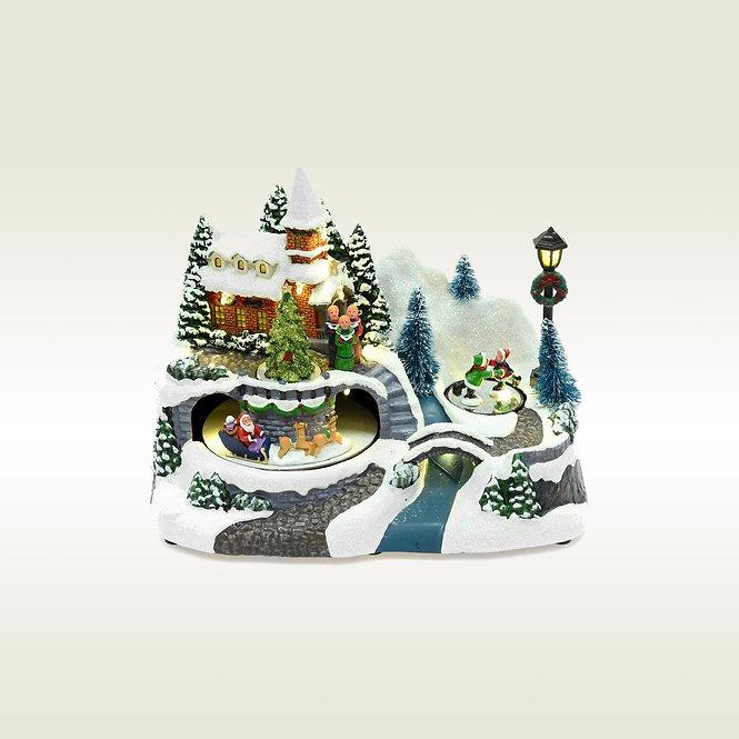 Χωριουδάκι-Χριστουγεννιάτικο κωδ.L403
