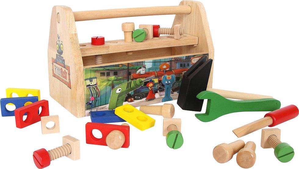 Εργαλειοθήκη ξύλινη   Κωδ.L6382