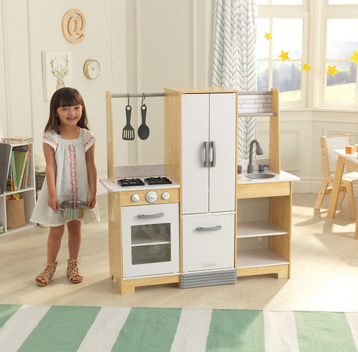 Modern-Day Play Kitchen with EZ Kraft Assembly™ Κωδ.53423