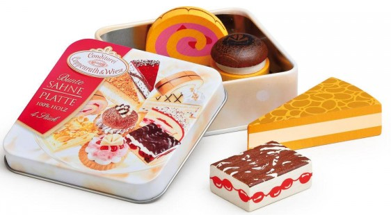 Γλυκίσματα σε μεταλλικό κουτί κωδ.13105