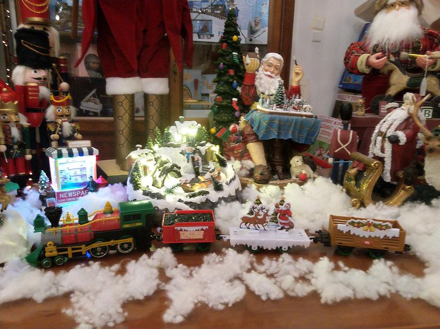 Αγ.Βασίλη  Xριστουγεννιάτικο Τρένο με Φώτα & Ήχους κωδ.Α2143108