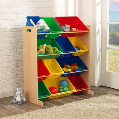 kidkraft Sort It & Store It Toy Bin Unit - Natural Κωδ.16774