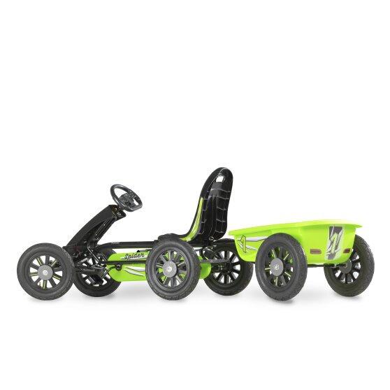 EXIT Spider πράσινο go-kart με τρέιλερ  3-8χρ.  κωδ.EX23400080