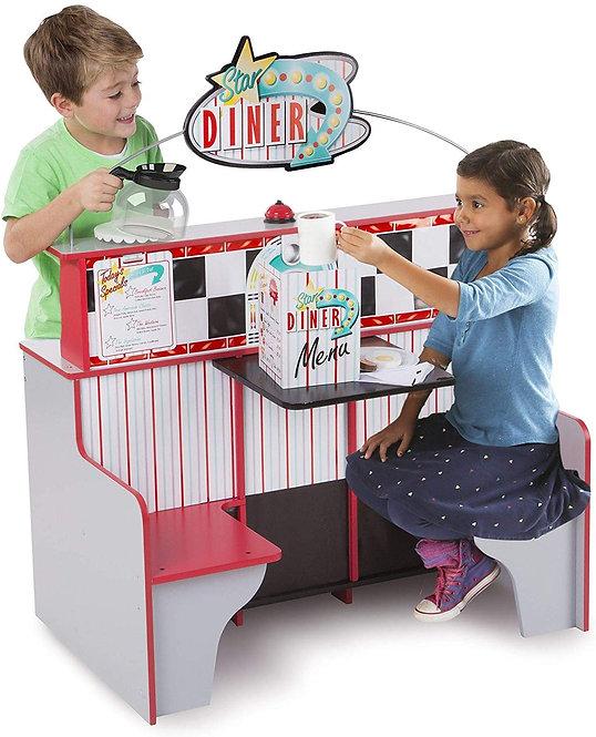 Μοναδικό Εστιατόριο για παιδάκια 2 σε 1 με κουζίνα  κωδ: Μ4248