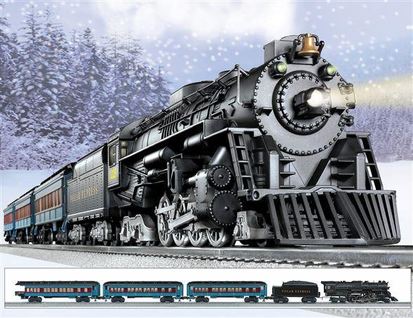 The Polar Express από μέταλλο με φώτα & ήχους  Κωδ.: 6-31960