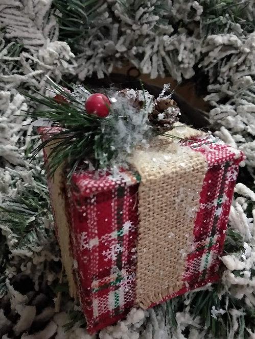 Χριστουγεννιάτικη συσκευασία δώρου κωδ:L652