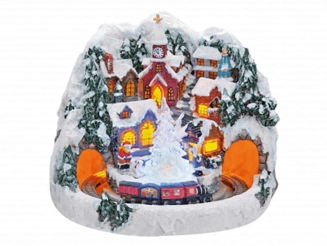 Χωριουδάκι -Χριστουγενιάτικο κωδ.Z2007
