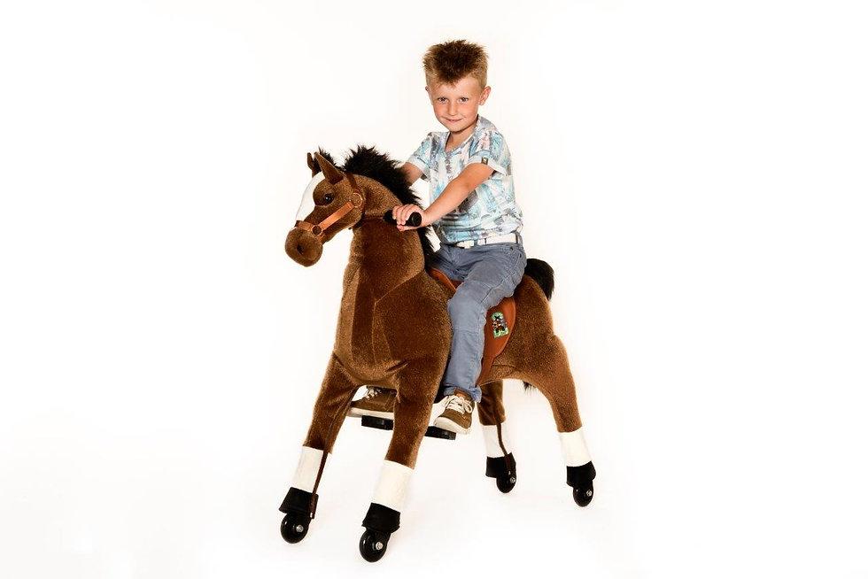 Άλογο  Ιππασίας Μεσαίο Καφέ   κωδ.L9409