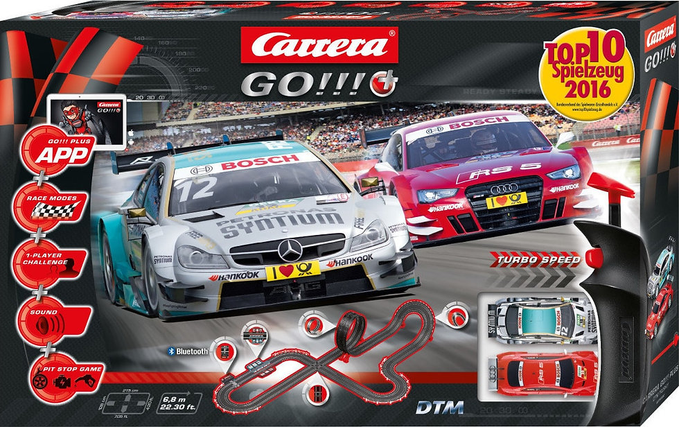 6-Carrera Go!!! Plus 143 DTM Trophy κωδ:C20066000
