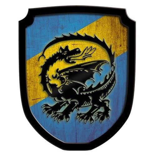 Ασπίδα Οικόσημο Δράκος μπλε Κωδικός:Τ335477