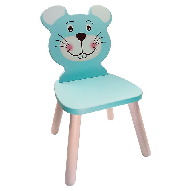 Καρέκλα 'ποντικάκι' μασίφ ξύλο Κωδ:Τ5103209