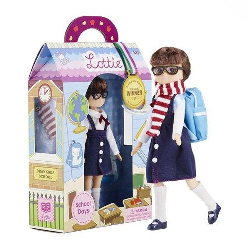 Κούκλα Βινύλιου'Μαθήτρια' 18εκ. Κωδ: 213148