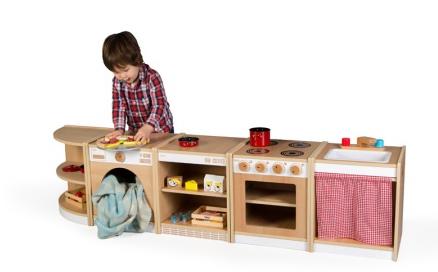 Ξύλινο παιχνίδι παιδιού γωνία κουζίνας  κωδ: Τ0405