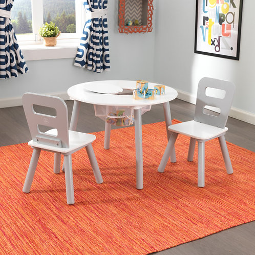kidkraft Round Storage Table and Chair Set Κωδ.26166