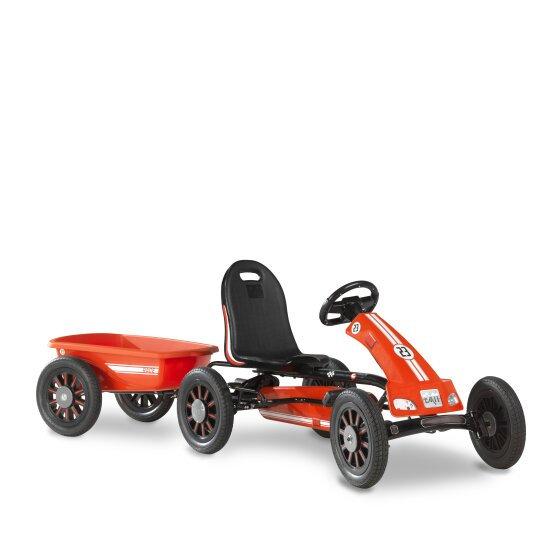 EXIT Spider Race go-kart με τρέιλερ  κόκκινο  3-8χρ.  κωδ.EX23404080