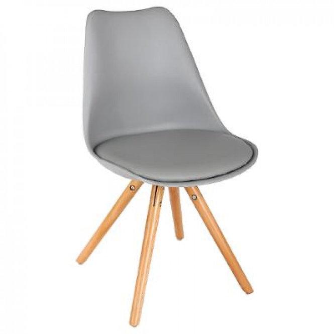 Δερμάτινη καρέκλα σε 2 χρώματα κωδ.J1313722