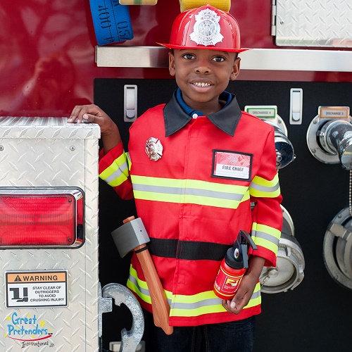 Στολή Πυροσβέστης' με αξεσουάρ 5-6 ετών Κωδικός: Τ81355