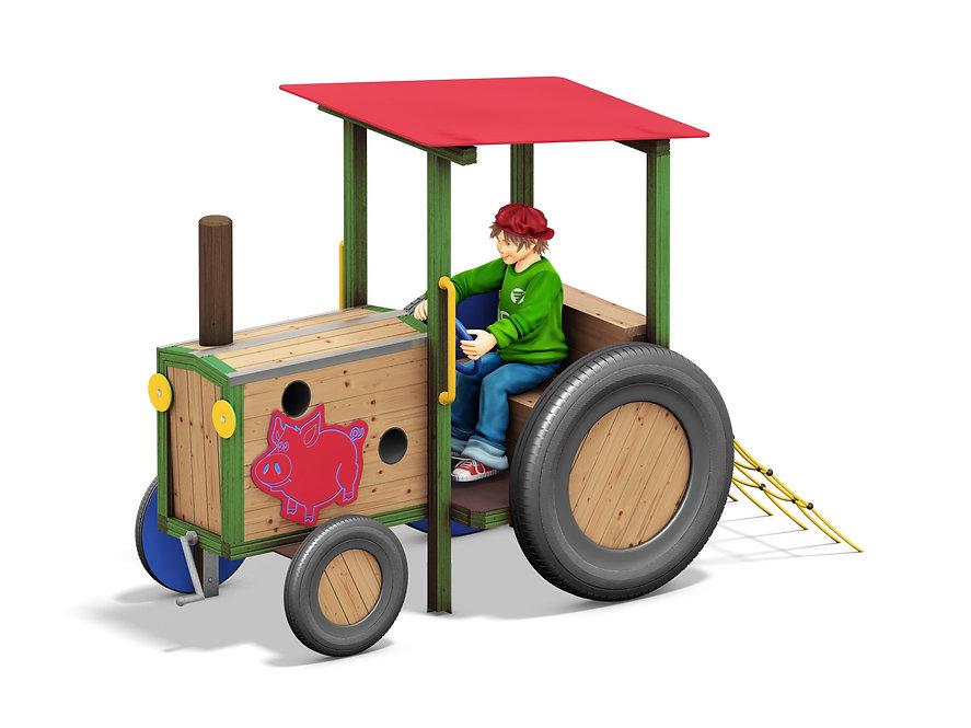 Παιδική χαρά Τρακτέρ  Κωδ.Η8906
