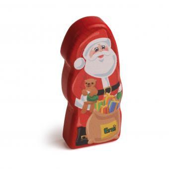 Ξύλινη Σοκολάτα Άγιος Βασίλης κωδ.14200