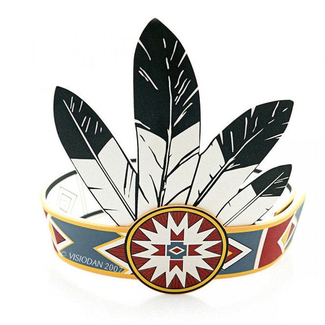 Ινδιάνικο καπέλο κωδ.Β 3120