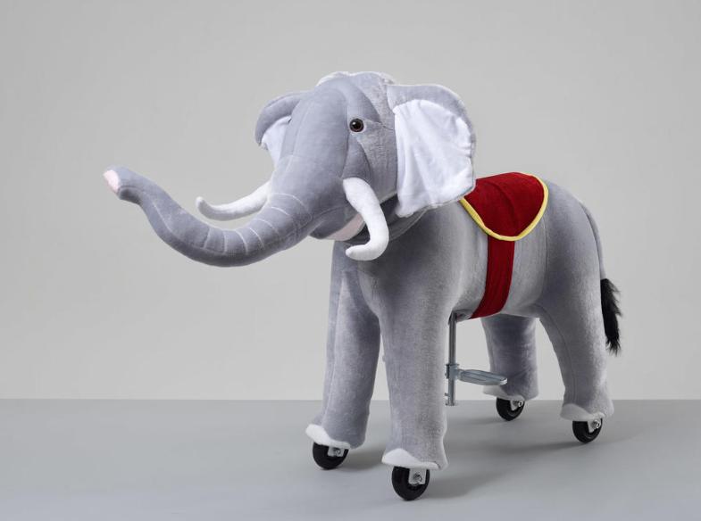 Πανέμορφος μικρός Ελέφαντας  Ύψος 85 εκ ιππασίας 3-6 ετών κωδ.HS8031