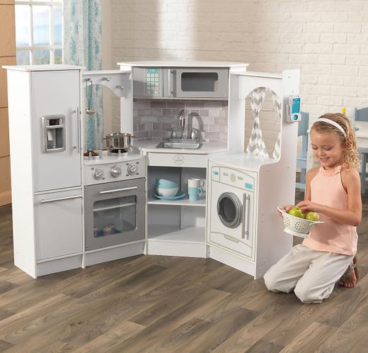Ultimate Corner Play Kitchen - White Κωδ.53386