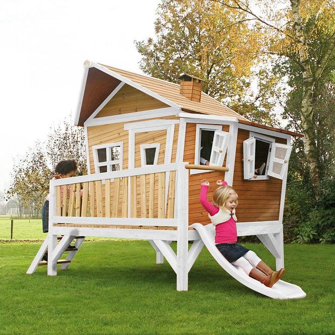Μεγάλη Κατοικία με Μπαλκονάκι  και Τσουλήθρα Κωδ.PR30108X1