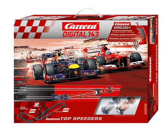 Carrera Digital 143-Top Speeders κωδ:40026