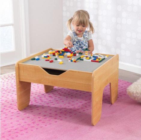 Activity Play Table -GrayNatural κωδ.W117506