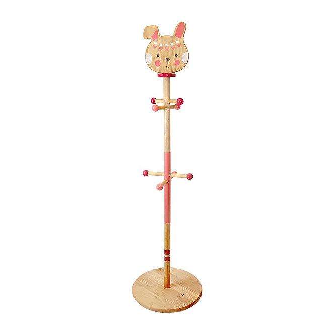 Παιδικός Ξύλινος Καλόγερος  'Λαγουδάκι' Μασίφ Ξύλο Κωδ:Τ21004