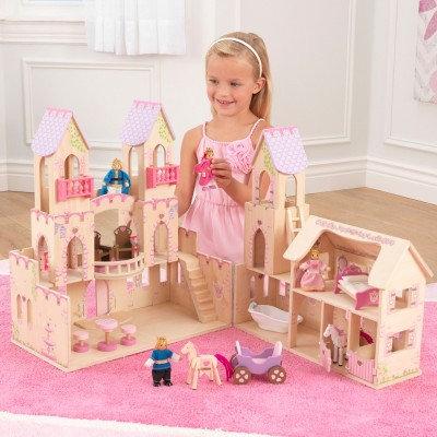 """Κουκλόσπιτο Kidkraft-Κάστρο""""Princess Castle"""" κωδ:65259"""