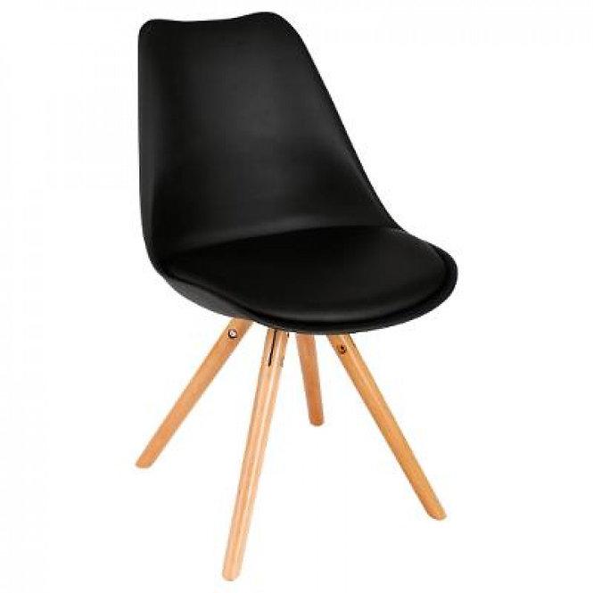 Δερμάτινη καρέκλα σε 2 χρώματα κωδ.J131372