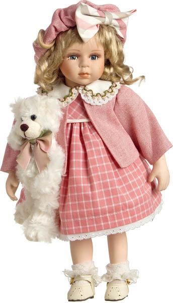 Κούκλα πορσελάνης 36εκ. κωδ: Ε74