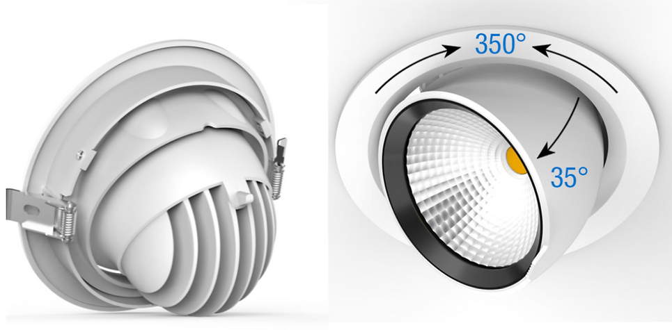 Blightsolution - clara 144 - led downlight