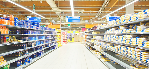 Blightsolution Ltd - linear led - chemin lumineux - supermarket-supermarche - UK